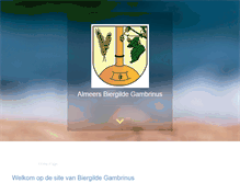 Tablet Preview of biergildegambrinus.nl
